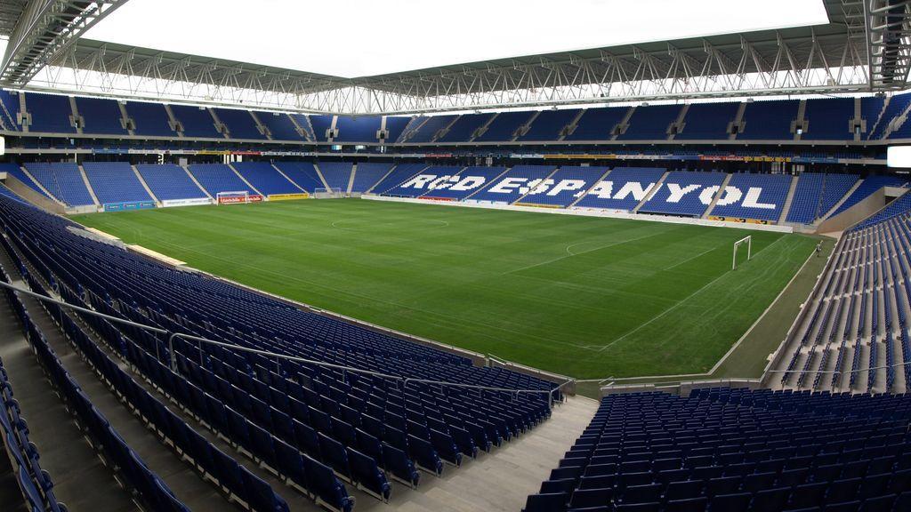 interior del RCDE Stadium, estadio del RCD Espanyol