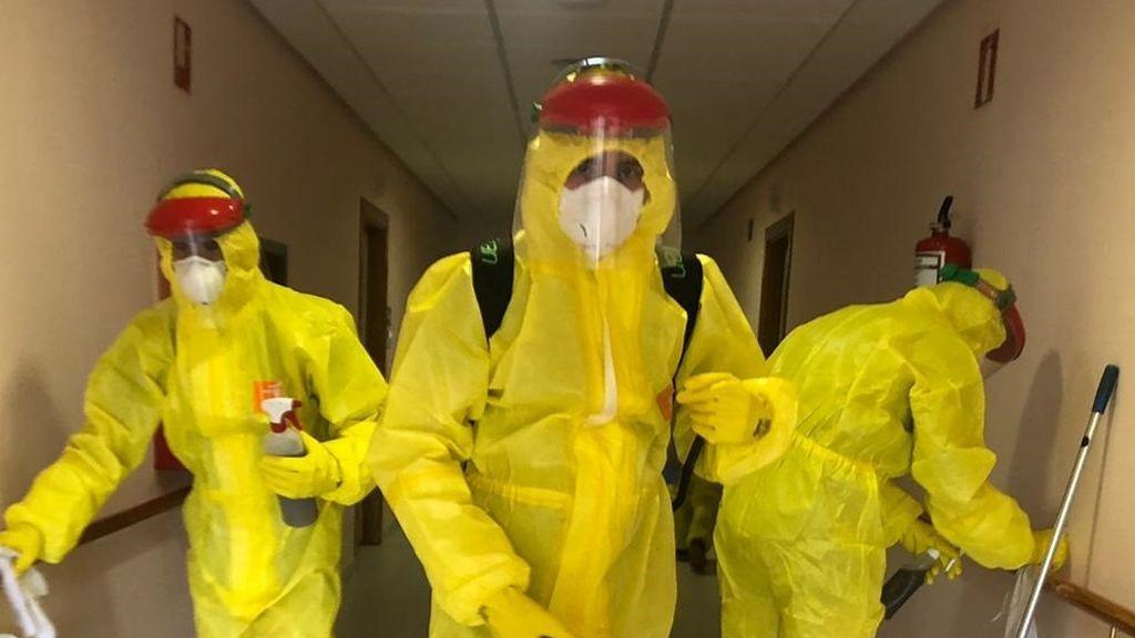 Más de un centenar de militares de la UME da positivo en coronavirus