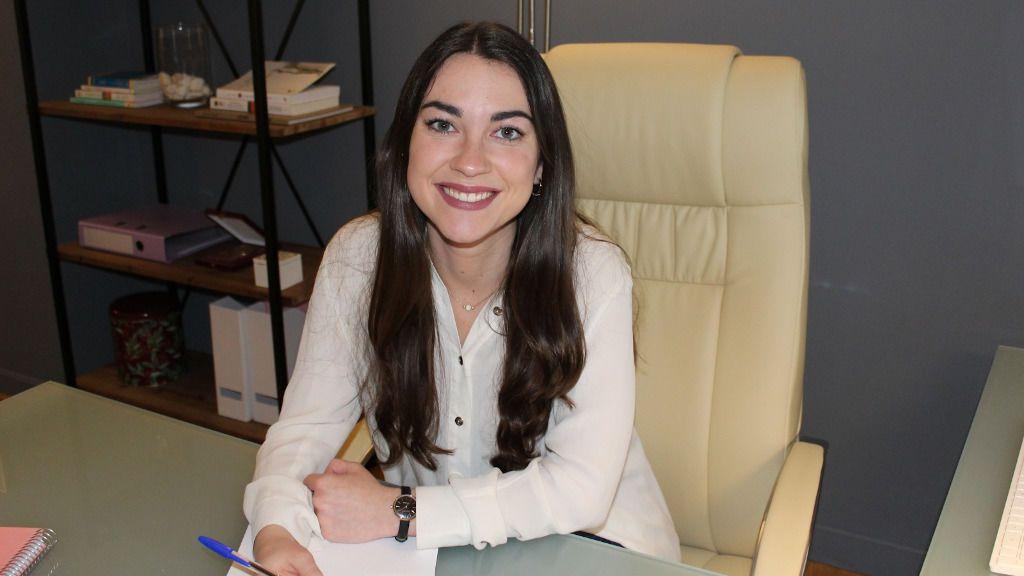Laura Baliña trabaja como psicóloga sanitaria