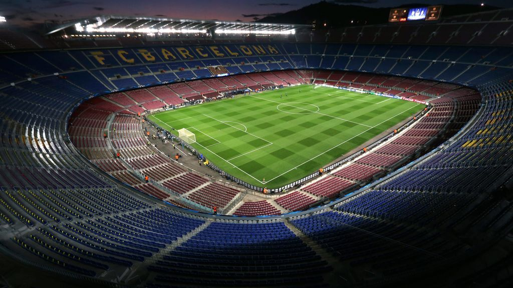 Los estadios más grandes de la Primera División del futbol español