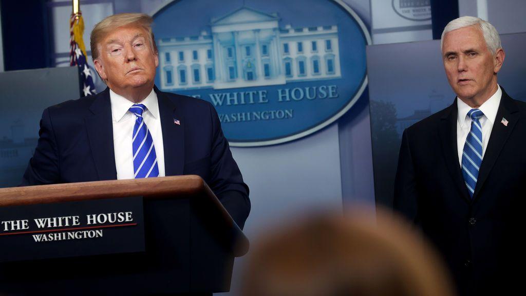 Trump sugiere inyectar desinfectante para tratar a los pacientes con COVID-19