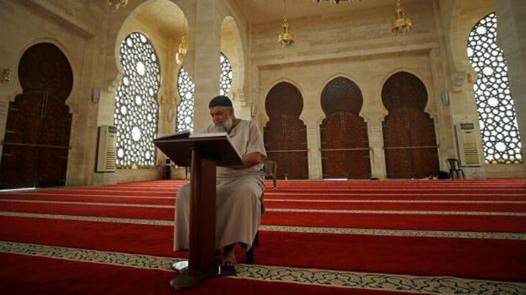 Mezquita en Gaza