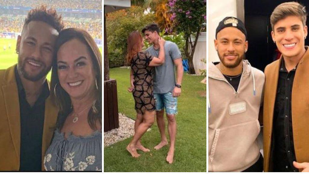 La madre de Neymar corta la relación con su joven novio al enterarse de su bisexualidad  y le prohíbe entrar a cualquier propiedad de su hijo
