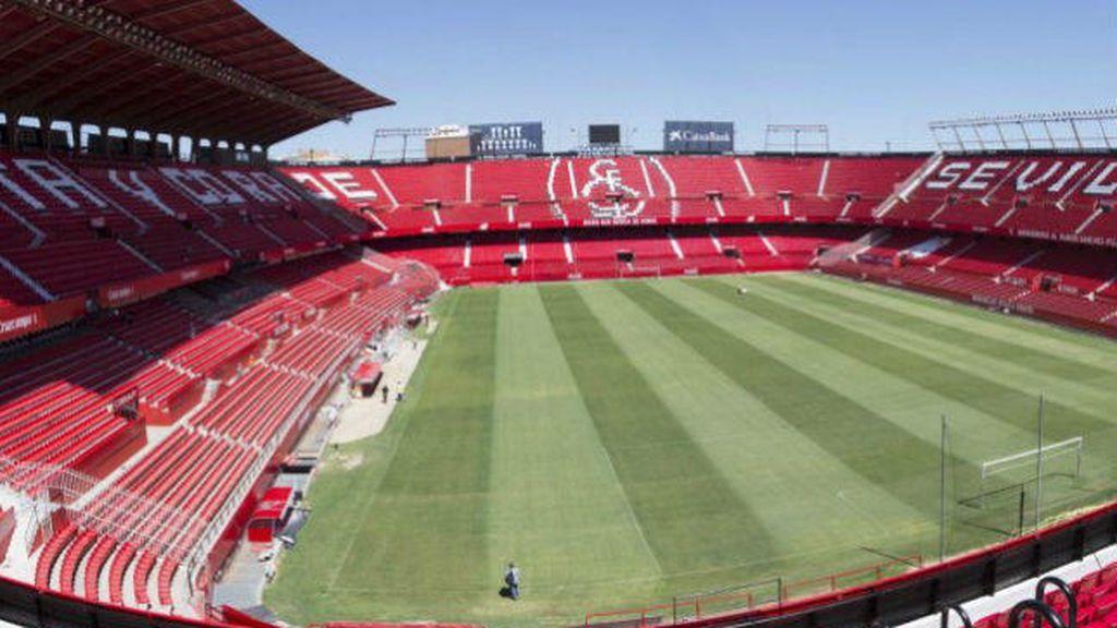 interior del Ramón Sánchez Pizjuán, estadio del Sevilla