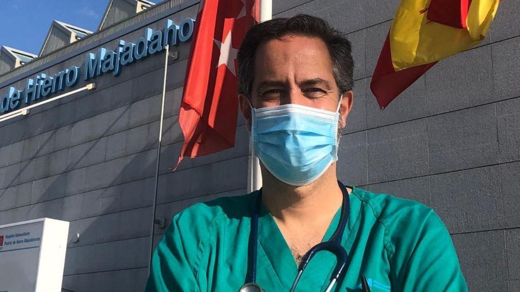 El doctor Roberto Siljestrom ya recuperado