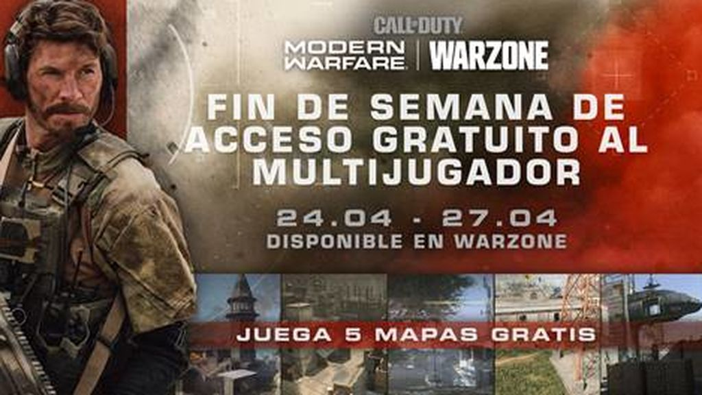 Juega gratis al multijugador de Call of Duty Modern Warfare