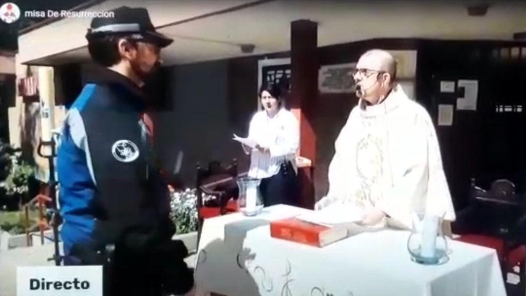 Misa de Resurrección en la Parroquia de San Jenaro de Madrid