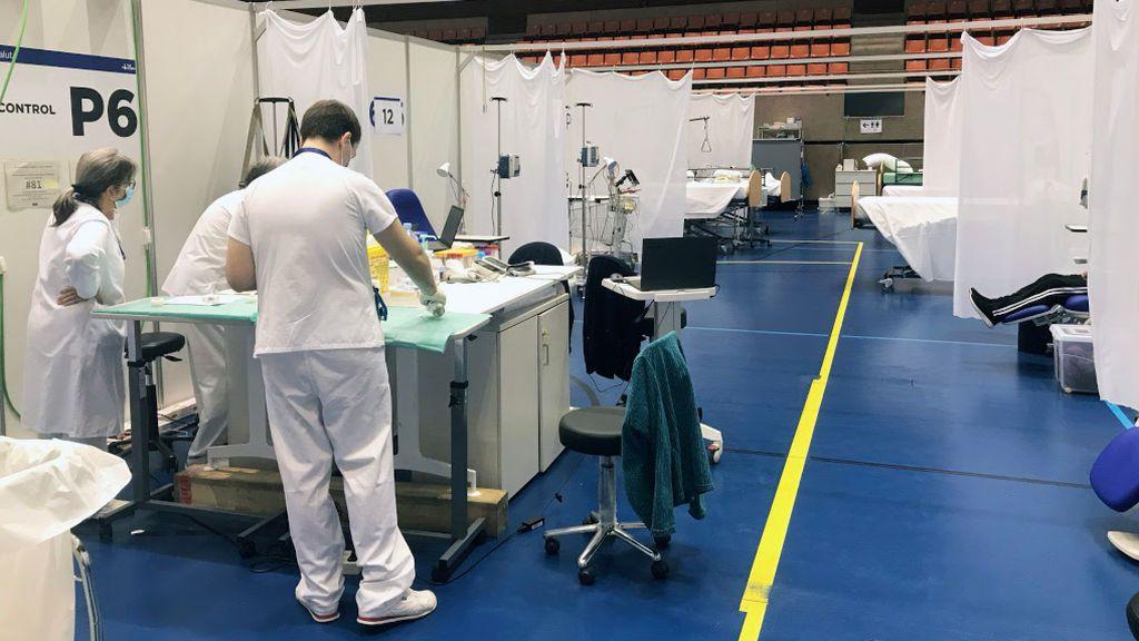 El hospital de campaña de la Vall d'Hebron pasa a ser un centro sanitario de día para pacientes sin COVID-19