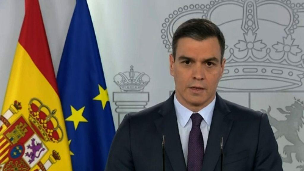 Comparecencia Pedro Sánchez