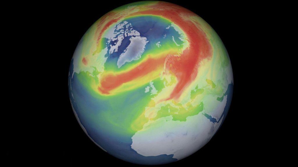 Se cierra el agujero de ozono más grande del Ártico debido a una ola de calor