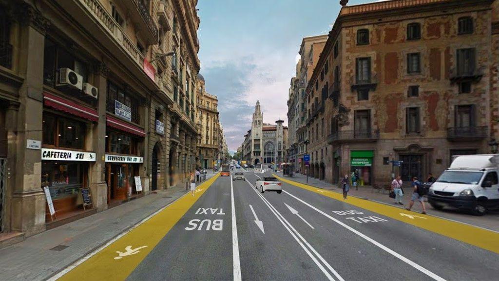 Barcelona adaptará la Gran Vía y la Diagonal para que los peatones puedan mantener la distancia social