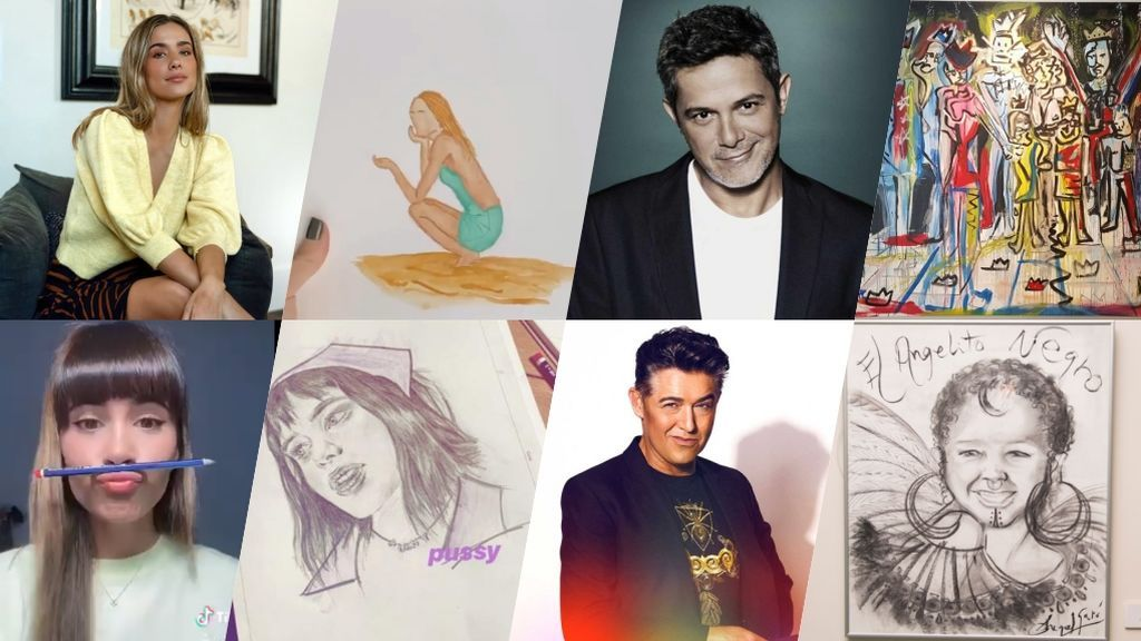 Pinacoteca VIP: Los famosos que son unos auténticos artistas del lienzo y el pincel