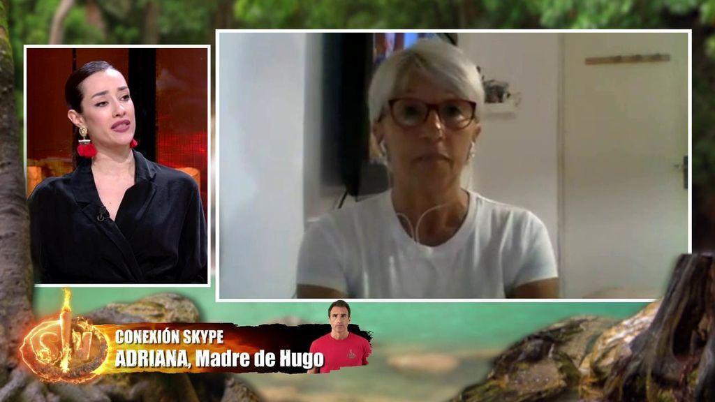 Adara contra Adriana, madre de Hugo