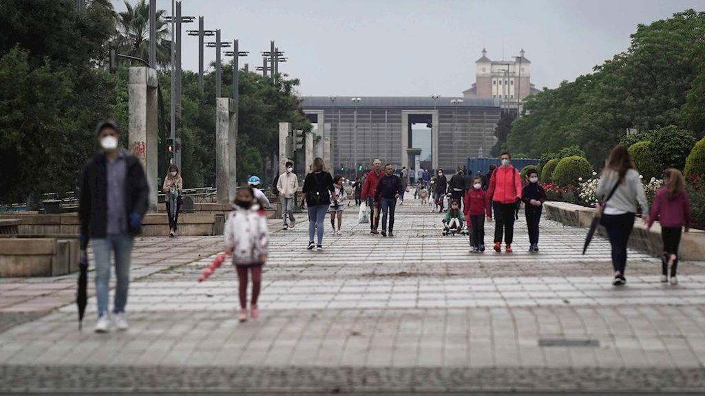 Los niños vuelven a la calle tras seis semanas confinados por el coronavirus (Córdoba)