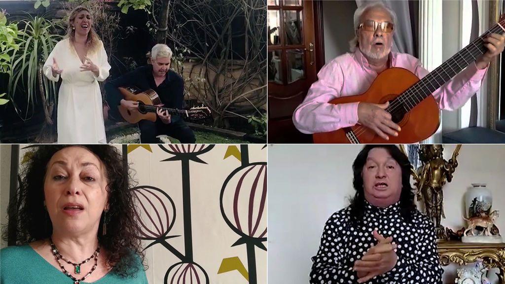 Cantes flamencos al coronavirus