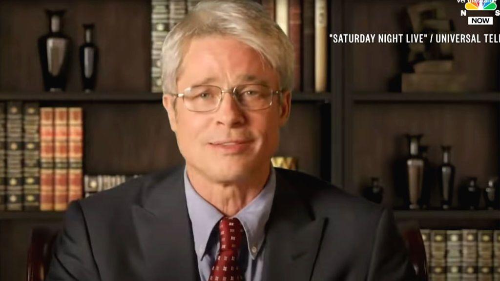 Brad Pitt, en la piel del Dr. Fauci en Saturday Night Live (SNL)