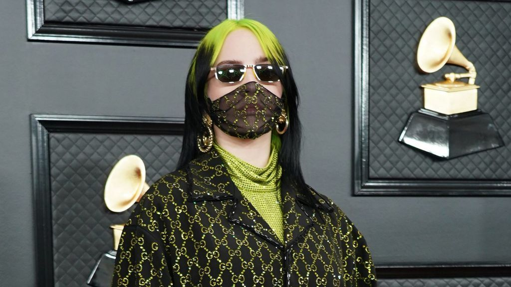 Billie Eilish mascarilla