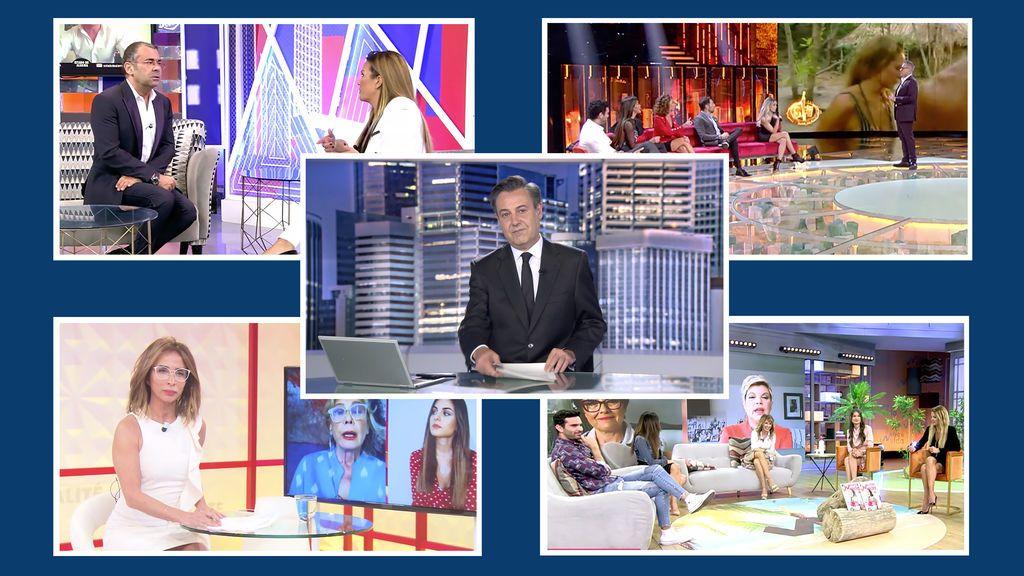 Fin de semana de récords en Telecinco con Informativos, 'Supervivientes', 'Viva la vida', 'Sábado Deluxe' y 'Socialité' en máximos