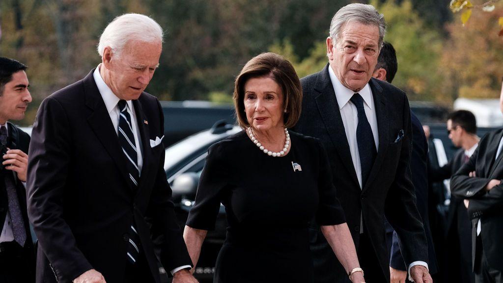 """Pelosi respalda a Joe Biden para presidente """"Él nos puede sacar de esta crisis"""""""