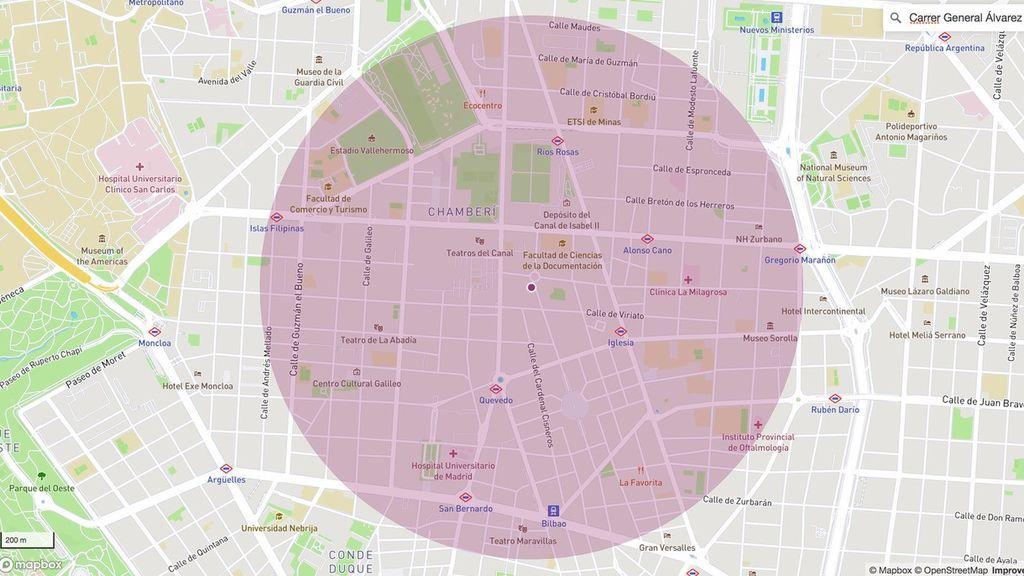 Aplicaciones para calcular el kilómetro permitido en torno a tu casa