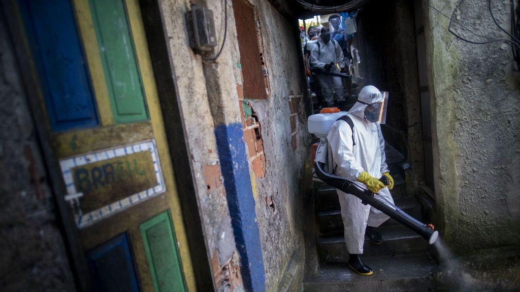 Última hora del coronavirus: Brasil registra 338 nuevos fallecimientos y ya suma 4.543 muertes