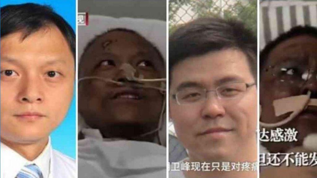 Los motivos por los que los médicos chinos se han vuelto negros por el coronavirus