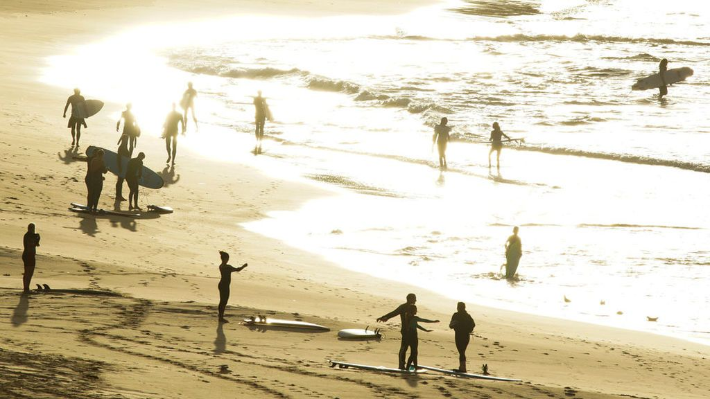Surferos vuelven a las playas de Sidney
