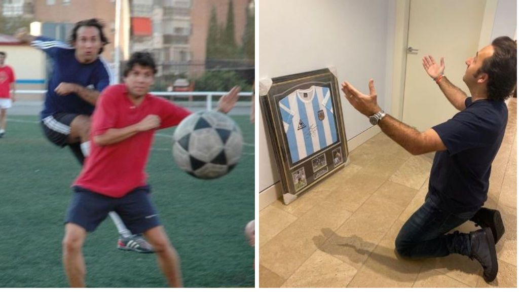 """La reflexión de Iker Jiménez sobre el fútbol de antaño: """"Viva Mikasa, viva el barro y viva el compañerismo"""""""