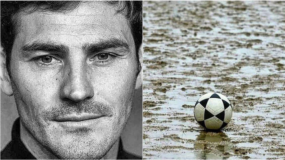 """La reflexión de Iker Casillas sobre el fútbol de barro y los balones 'Mikasa': """"Estaban hechos para melones grandes"""""""