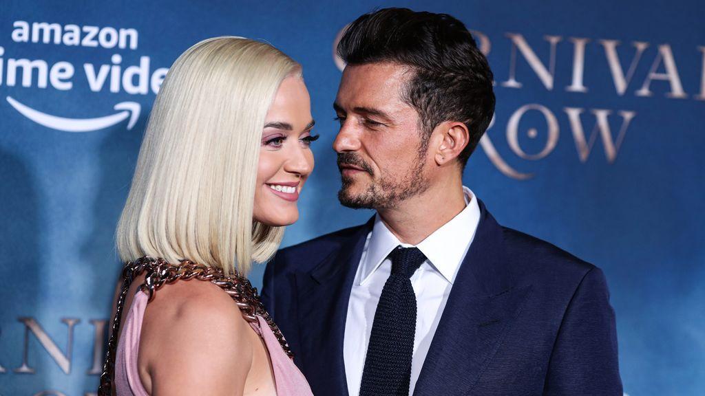 Katy Perry y Orlando Bloom.