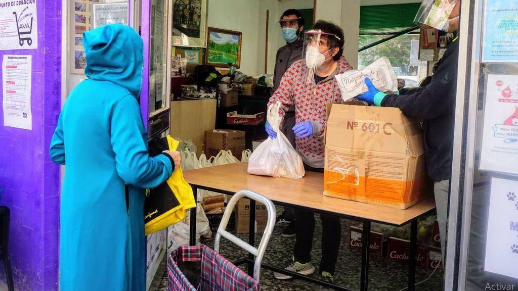 Asociaciones de vecinos desbordadas: sostén alimenticio de cada vez más familias