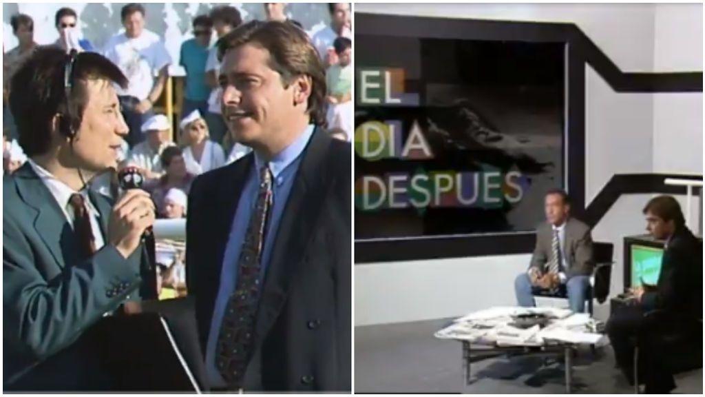 Michel Robinson, en varios programas en Canal +.