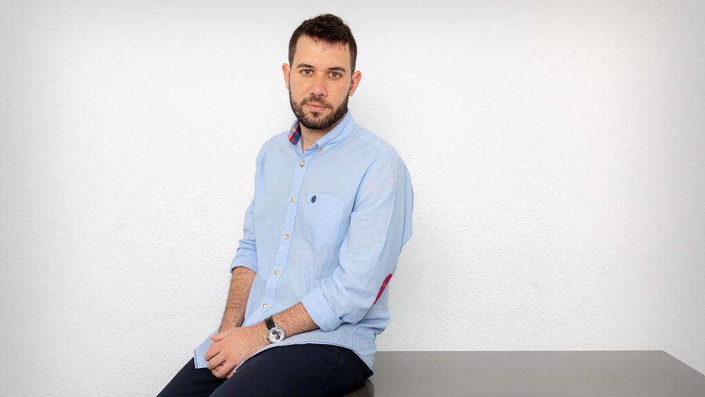 Pablo Bella, enfermero en el Hospital del Hierro de Madrid