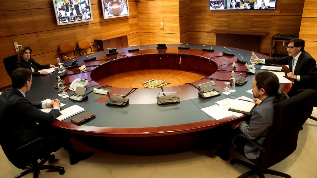 Sánchez preside el Consejo de Ministros
