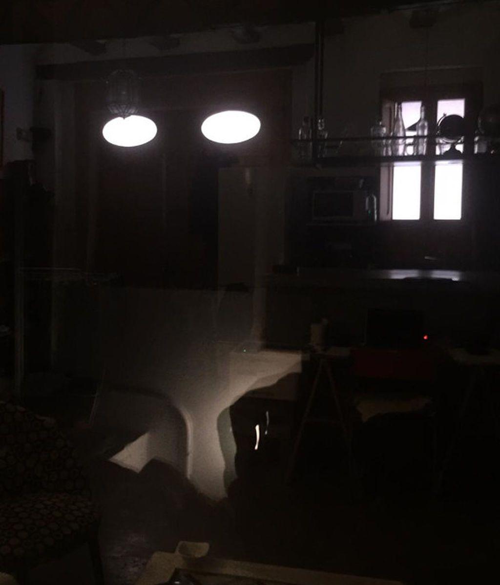 Sin luz natural