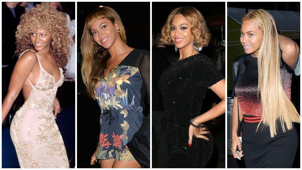 Esta es la alucinante colección de pelucas de la cantante Beyoncé.