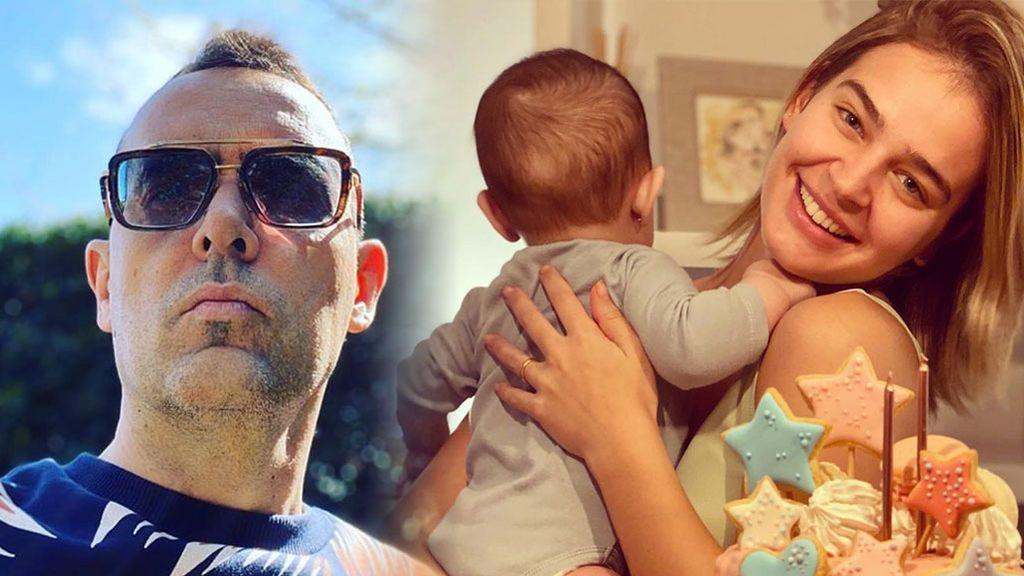 """Risto Mejide enseña cómo se ríe su hija y conquista a Laura Escanes: """"Así toda la tarde"""""""