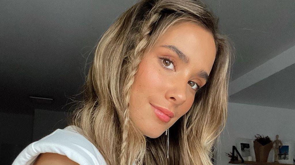 "María Pombo, criticada por jugar con una mascarila: ""Maldito coronavirus"""