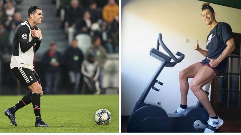 La Juventus pondrá a Cristiano Ronaldo en 14 días de cuarentena en cuanto pise territorio italiano