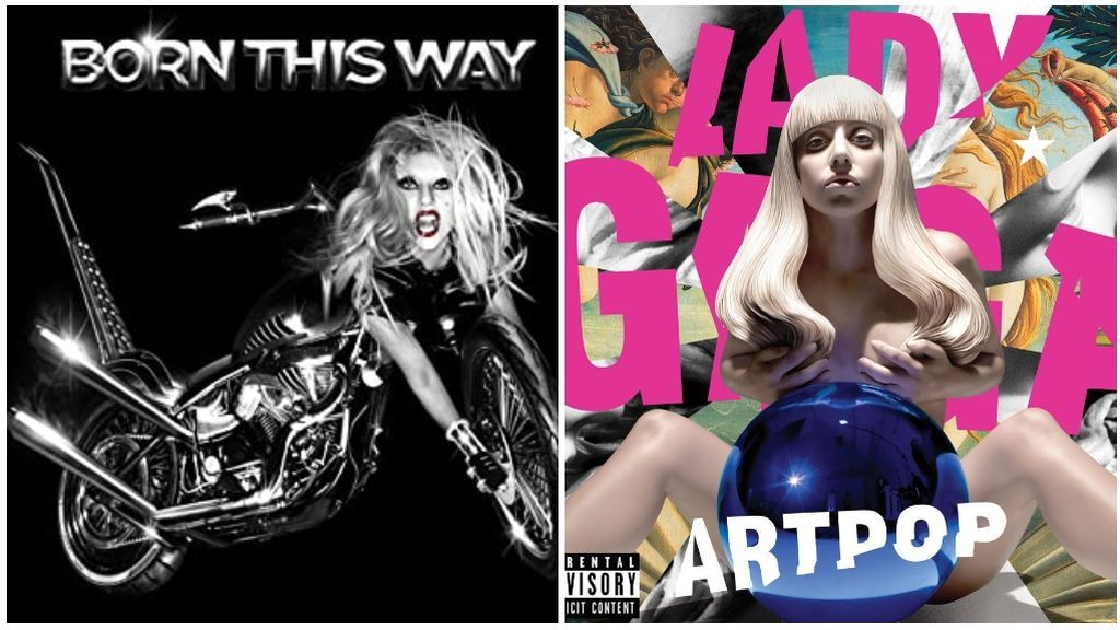 'Born this way' y 'Art Pop'.