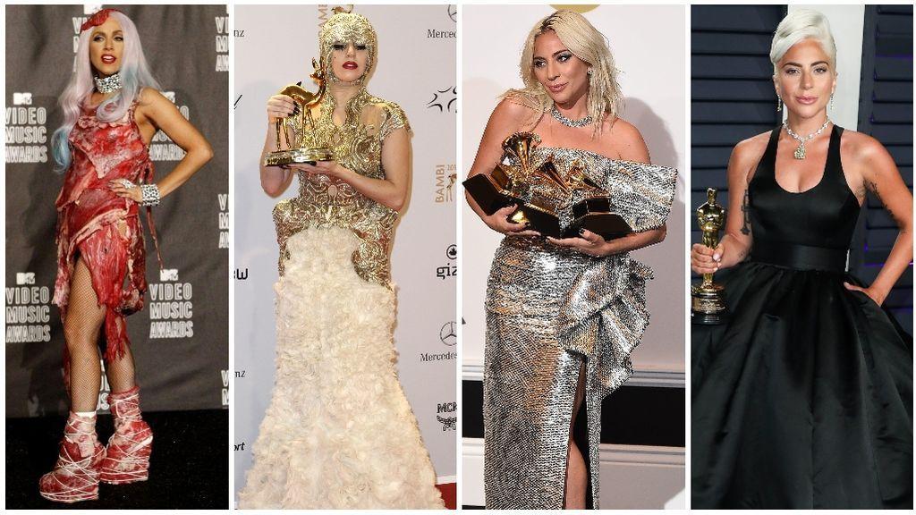 Así ha evolucionado el estilo de Lady Gaga.
