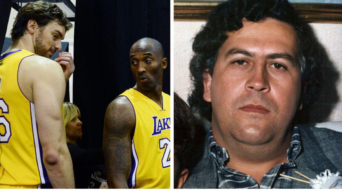 """Pau Gasol explica el mote que le puso Kobe Bryant de 'Pablo Escobar': """"No era porque fuese traficante"""""""