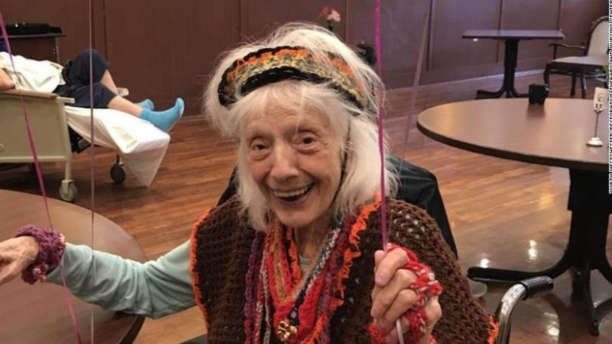 Angelina Friedman, la mujer de 101 años que ha superado el coronavirus, un cáncer y la gripe española