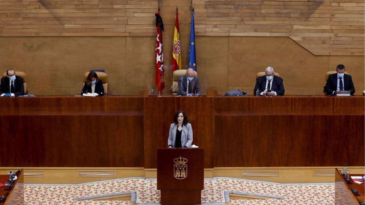 Isabel Díaz Ayuso explica su gestión de la pandemia