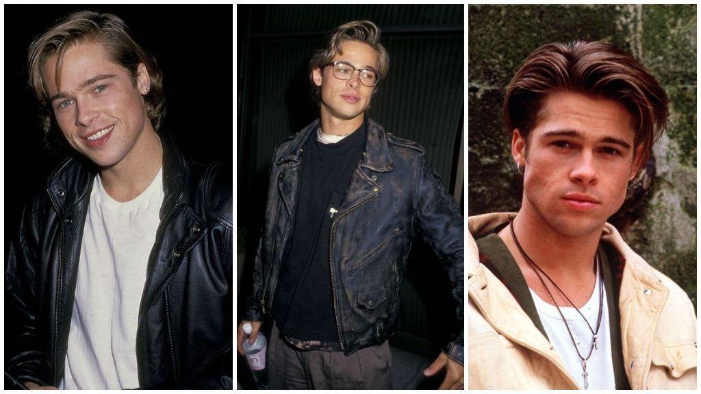 Brad Pitt, a finales de los 80.