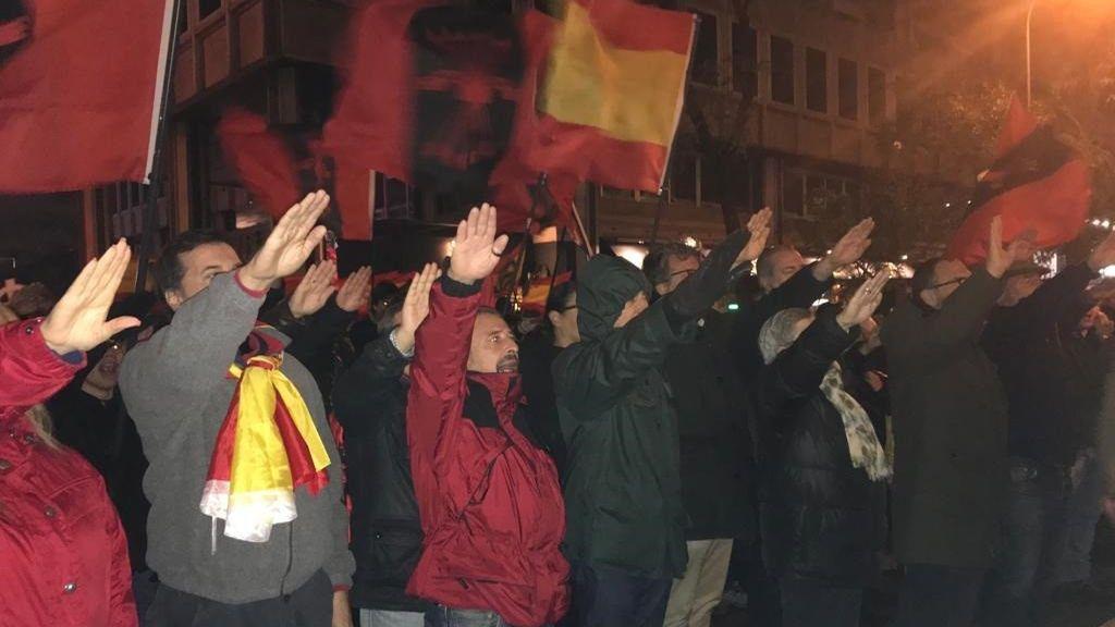 Los tribunales avalan la prohibición de una marcha de la Falange hasta el Ministerio de Sanidad