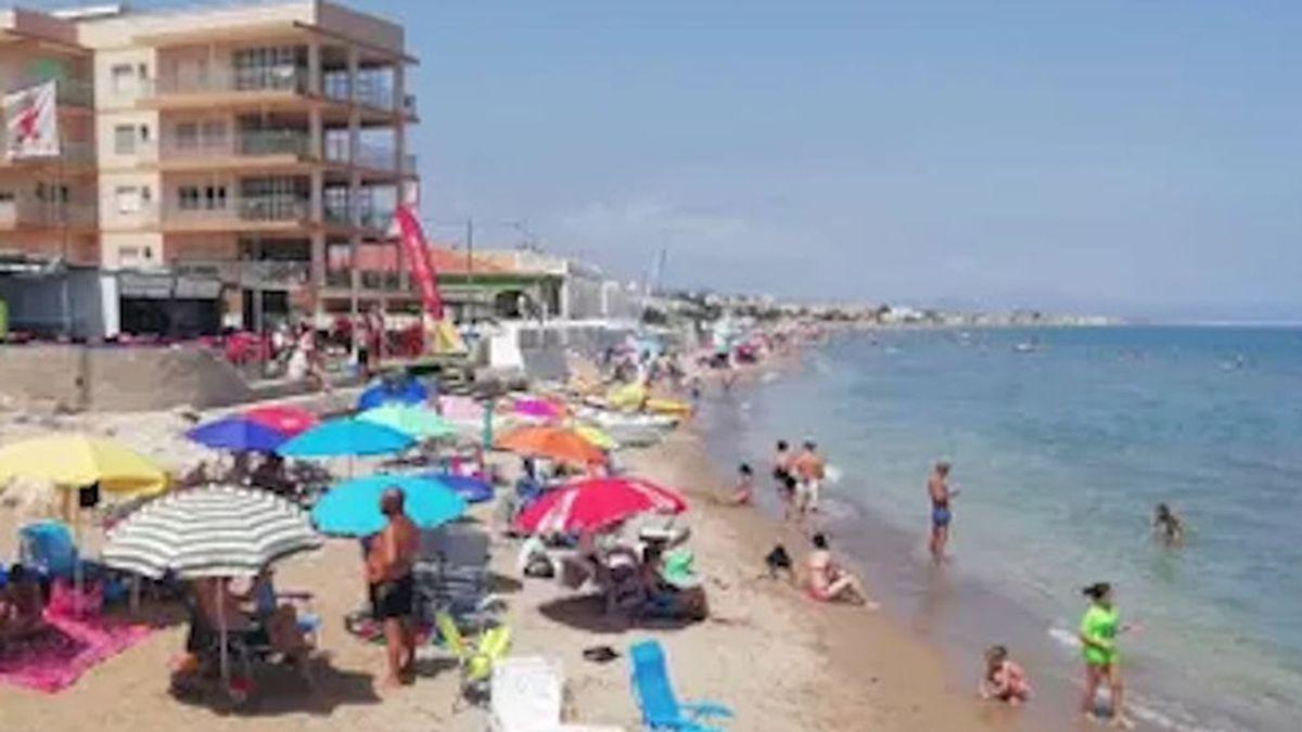 Denia, playa prohibida para los valencianos