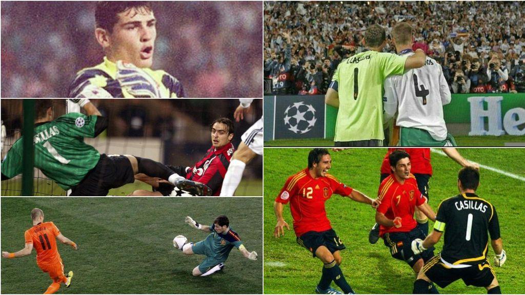 Los cinco momentos que marcaron la carrera de Iker Casillas: de su debut en San Mamés, al beso con Sergio Ramos en la Décima