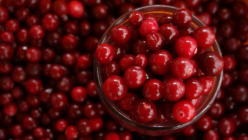 Frutos rojos para prevenir la infección de orina