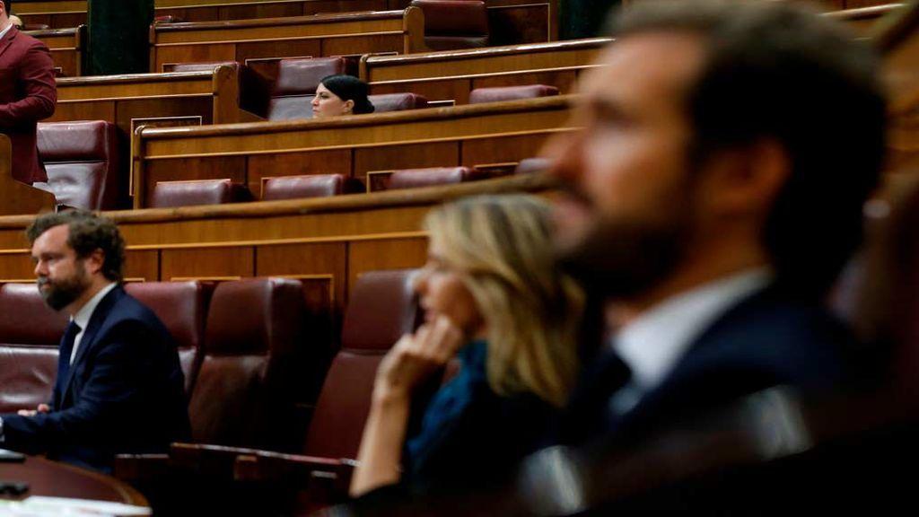 PP y Vox de la mano en el Congreso para pedir que se celebren plenos  todas las semanas